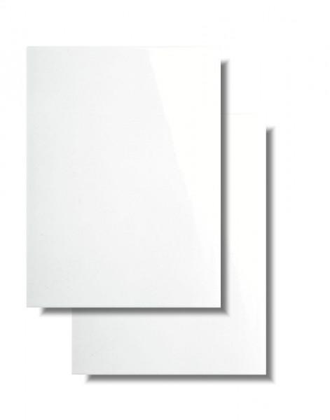 Wandfliese weiß für Küche, Bad und WC von Meissen Keramik