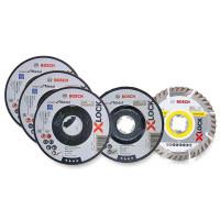 Bosch Winkelschleifer GWX 750-125 X-LOCK + 27 Trennscheiben