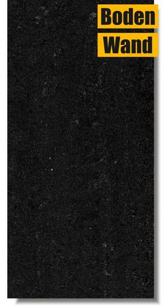 Jumeirah Schwarz Poliert 30 x 60 JRB Rektifiziert