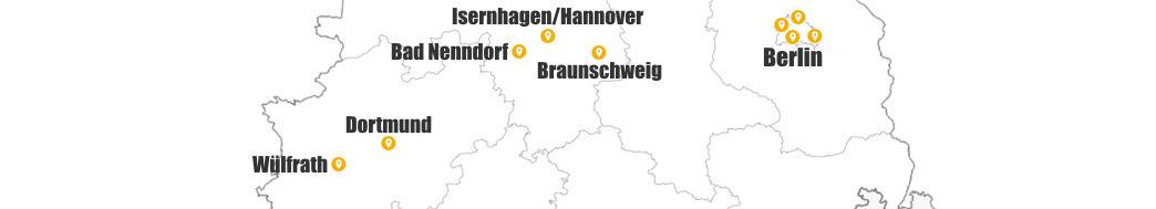 Deutschland-Standorte