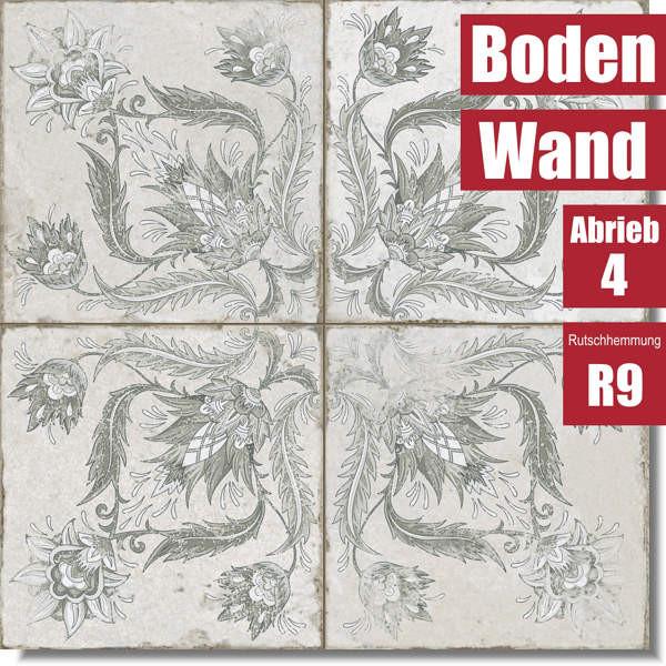 florale Muster mit FS Ivy Sage 26172 für Wand und Boden