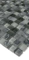 Glasmosaik GS03-MS Grau Mix