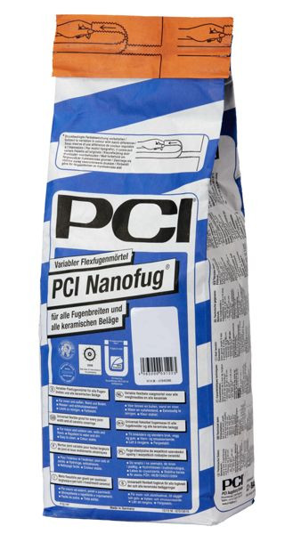 PCI Nanofug 3123 Fugenmörtel Farbe 16 Silbergrau 4 kg