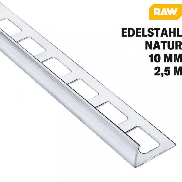 Fliesen Winkelprofil Edelstahl V2A Natur von RAW
