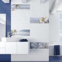Groove White Plain 25 x 75