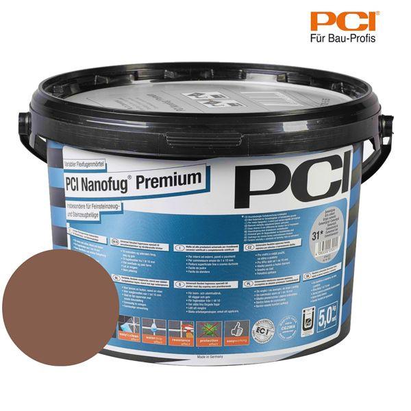 PCI Nanofug Premium rehbraun Fugenmörtel 5 kg