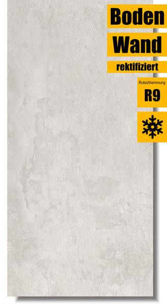 Zementoptik Studio 3060 Grey von Azteca Ceramica