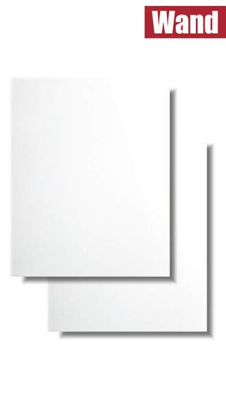 weiße Wandfliese glänzend 20 x 25 für Küche und Bad