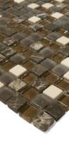 Glasmosaik SGB-5 Braun Mix