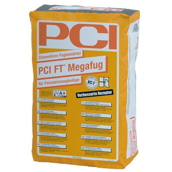 PCI FT Megafug 3551 Fugenmörtel Farbe 31 Zementgrau 25 kg