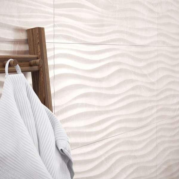 Marble Shape Cream Shine 35 x 100 LM-3705 Rektifiziert