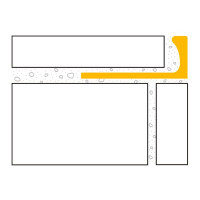 DURAL Classic CL 821 Fliesen Winkelprofil PVC Jasmin 8 mm 2,5 m