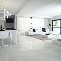 Calacatta Bianco Glänzend 80 x 80 Rektifiziert