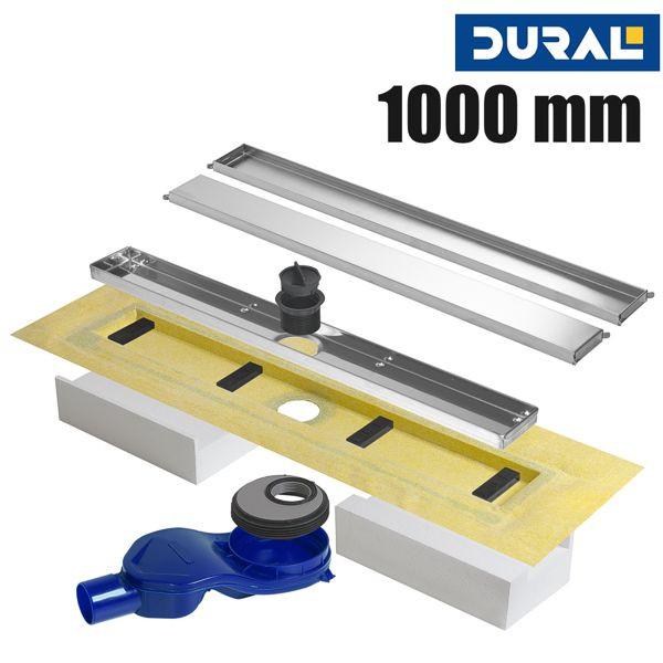 Vario Line Plus VLP 1000 D Duschrinne Doubleface 100 cm