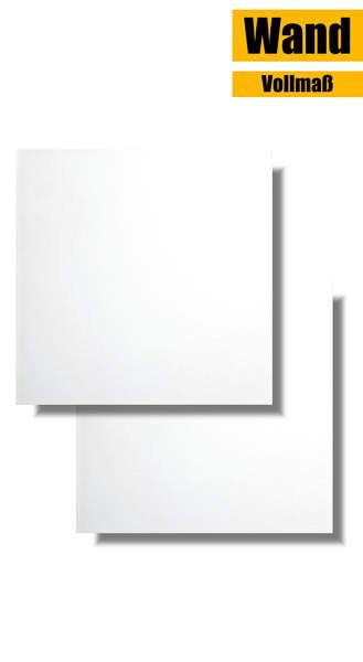 Wandfliese weiß matt 15 x 15 Vollmaß WAA1B104