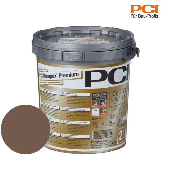 PCI Durapox Premium mittelbraun Epoxidharzmörtel 2 kg