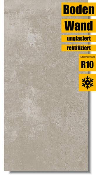 Villeroy & Boch Atlanta sandy grey 30 x 60 2394 AL70 rektifiziert