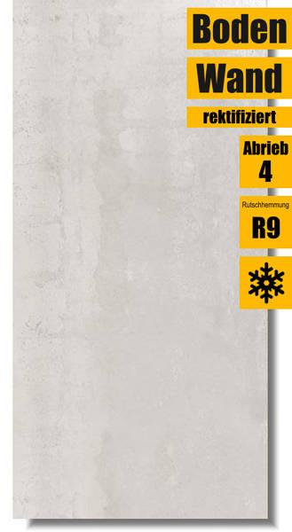Zementoptik Fliese Ionic White 45 x 90 von Ibero Porcelanico