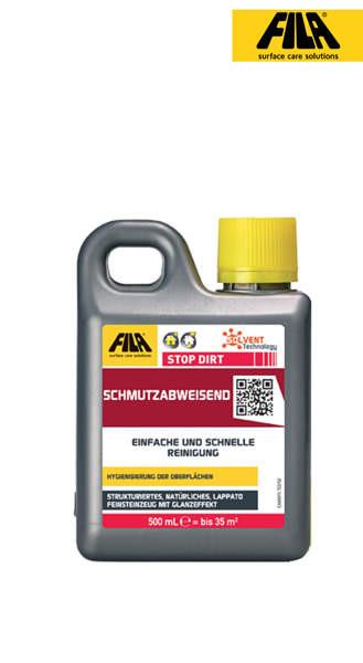 Schmutzschutz FILA Stop Dirt 500 ml für Feinsteinzeug