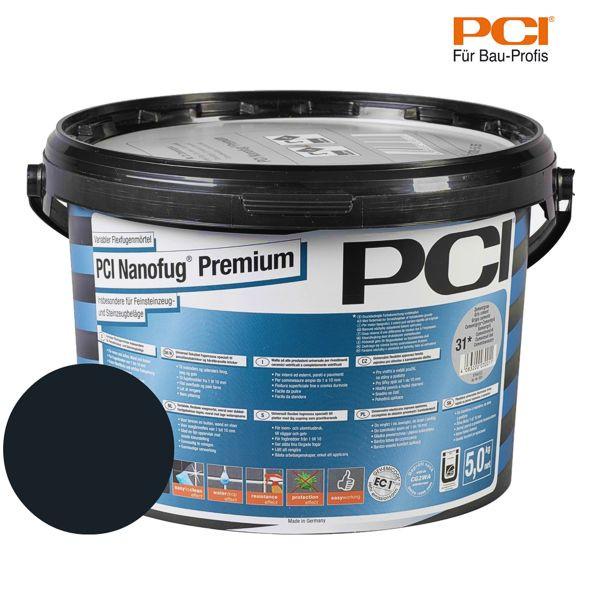 PCI Nanofug Premium schwarz Fugenmörtel 5 kg
