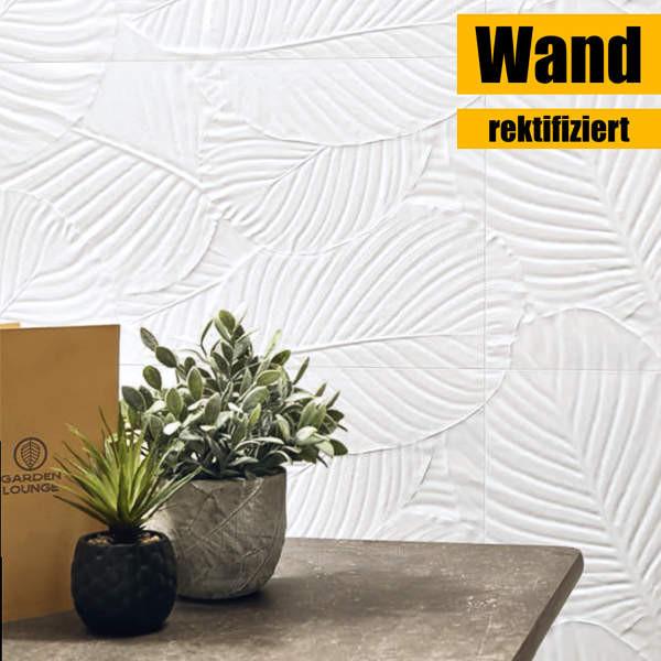 weiße Wandfliese von Love Ceramic Tiles