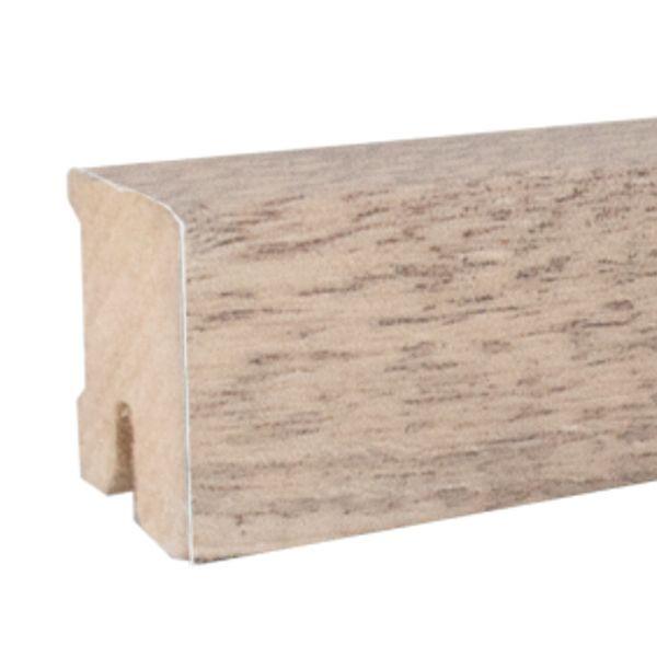 ZIRO Sockelleiste 178 Asteiche weiß 16 x 40 x 2500 mm