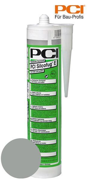 PCI Silcofug E zementgrau Silikon Dichtstoff 310 ml