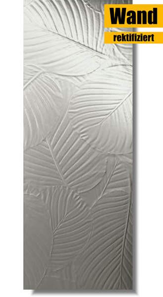 silberne Wandfliese von Love Ceramic Tiles