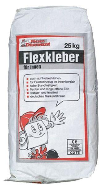 Fliesen Flexkleber Hausmarke 25 kg
