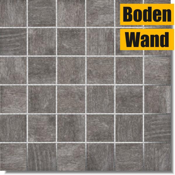 Oregon Grey grau Mosaik 30 x 30 Y-ORG7150