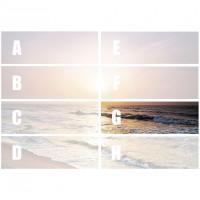 Hexa Dekor Sunrise G 25 x 75
