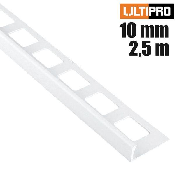 ULTIPRO Winkelprofil PVC Weiß 10 mm 2,5 m