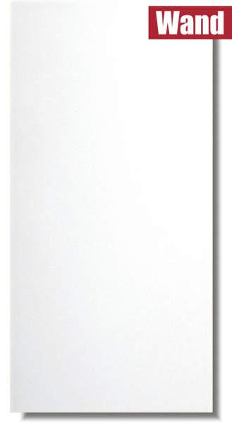 weiße Fliese Ice Super matt für Badezimmer und Küche