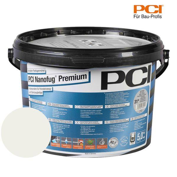 PCI Nanofug Premium lichtgrau Fugenmörtel 5 kg