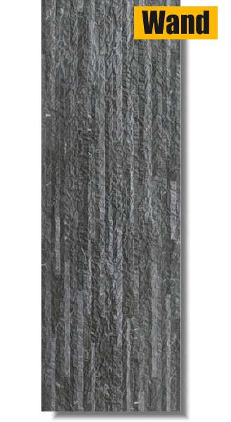 Havana nero matt strukturiert 40 x 120 rektifiziert