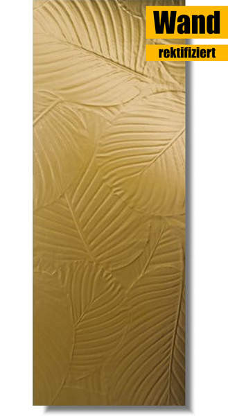 goldene Wandfliese von Love Ceramic Tiles