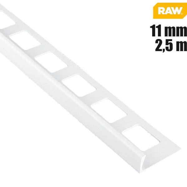Fliesen Winkelprofil PVC Weiß von RAW