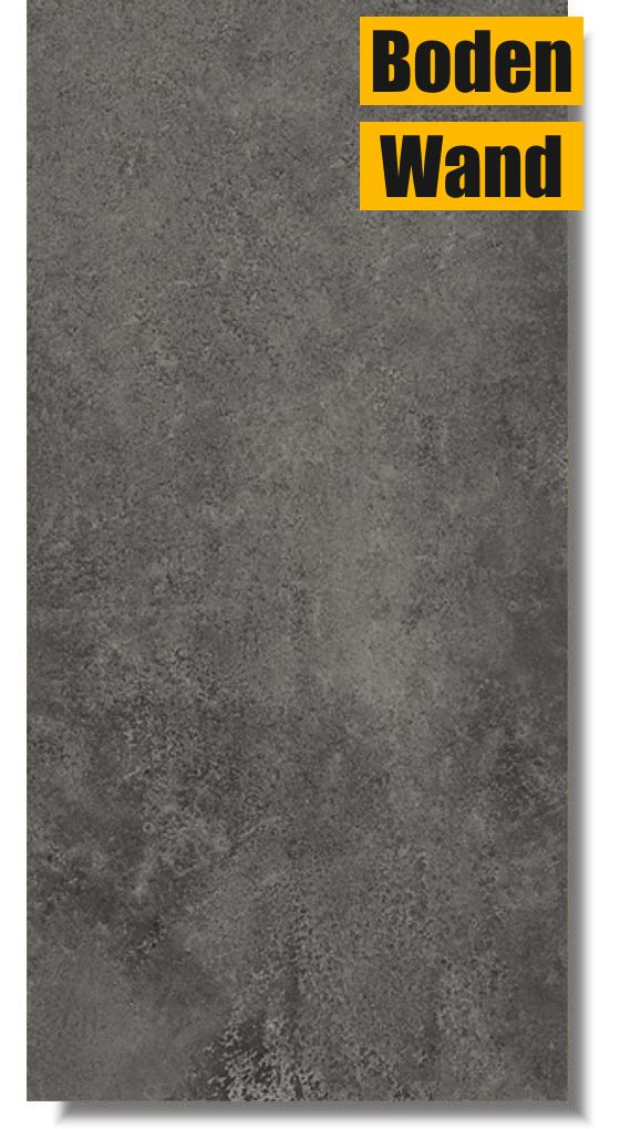 Bodenfliese normandie grafit 30 x 60 bm5373 von meissen for Fliesen discount
