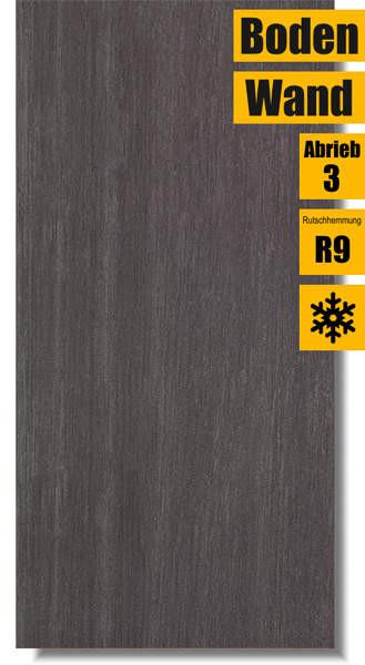 schwarze Fliese Syrio Nero W262-004-1 für Wand und Boden