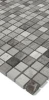 Natursteinmosaik N-14 Grau Mix