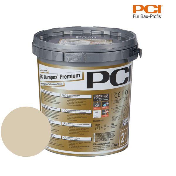 PCI Durapox Premium bahamabeige Epoxidharzmörtel 2 kg