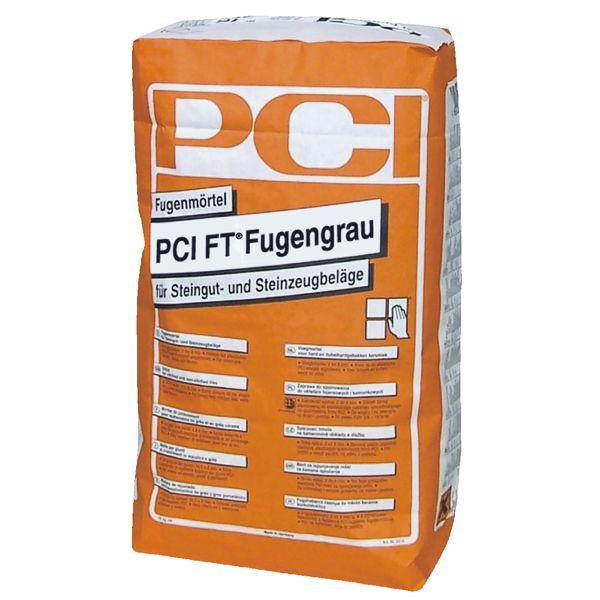 PCI FT Fugengrau 2310 Fugenmörtel Farbe 16 Silbergrau 25 kg