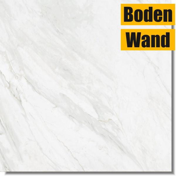 Trivor Bianco Matt 80 x 80 Rektifiziert