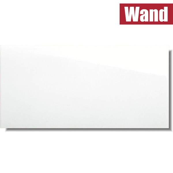 Metrofliese Subway White weiß glänzend glatt für die Wand