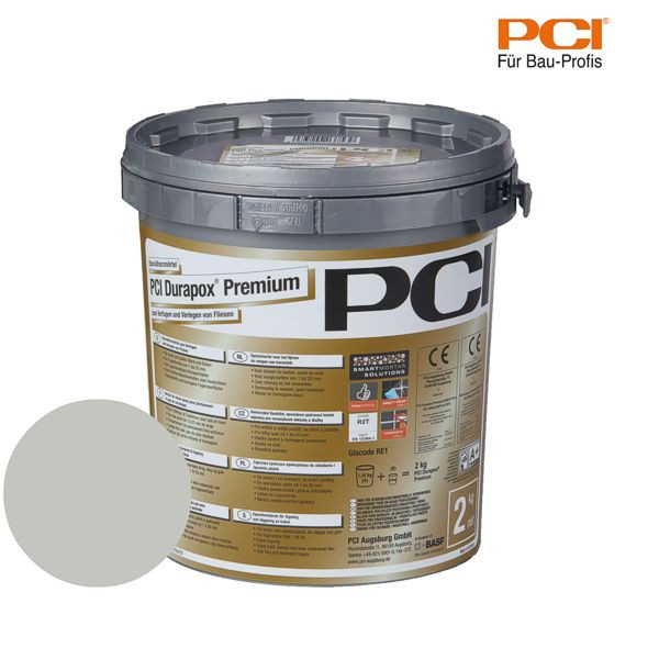 PCI Durapox Premium hellgrau Epoxidharzmörtel 2 kg