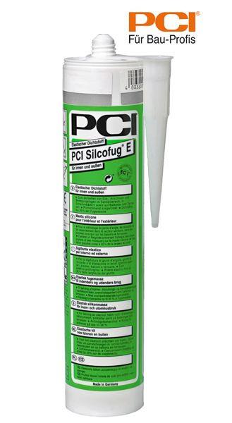 PCI Silcofug E transparent Silikon Dichtstoff 310 ml