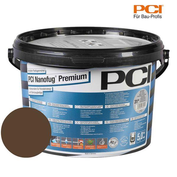 PCI Nanofug Premium mokka Fugenmörtel 5 kg