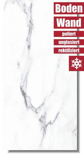 Marmoroptik Fliese Lux Spider 60 x 120 von Niro Granite