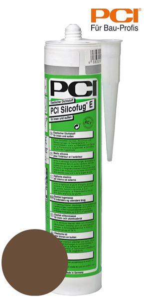 PCI Silcofug E mahagoni Silikon Dichtstoff 310 ml