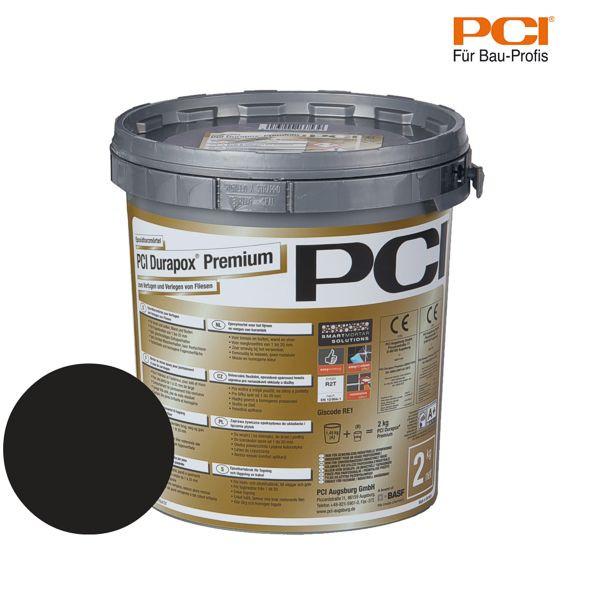 PCI Durapox Premium schwarz Epoxidharzmörtel 2 kg